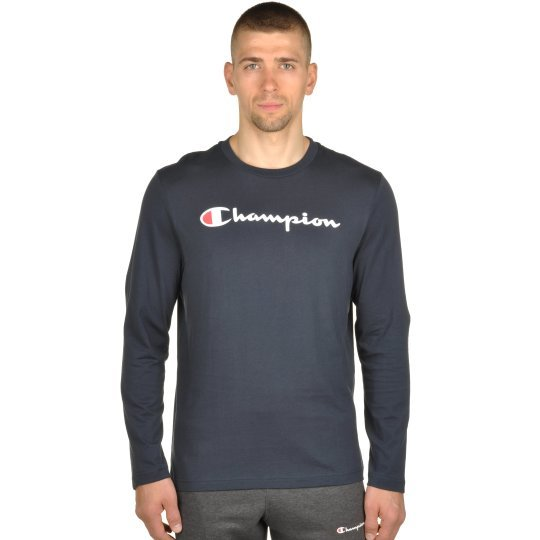 Футболка Champion Long Sleeve Crewneck T-Shirt - фото