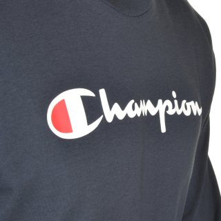 Футболка Champion Long Sleeve Crewneck T-Shirt - фото 5