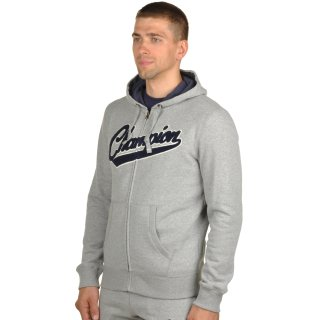 Кофта Champion Hooded Full Zip Sweatshirt - фото 2
