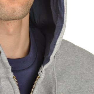 Кофта Champion Hooded Full Zip Sweatshirt - фото 6