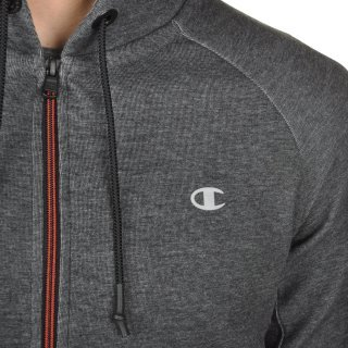 Кофта Champion Hooded Full Zip Sweatshirt - фото 8