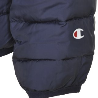 Куртка Champion Hooded Polyfilled Jacket - фото 3