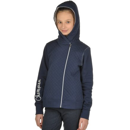Кофта Champion Hooded Full Zip Sweatshirt - 95370, фото 4 - інтернет-магазин MEGASPORT