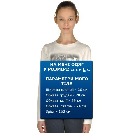 Футболка Champion Long Sleeve T-Shirt - 95375, фото 6 - интернет-магазин MEGASPORT