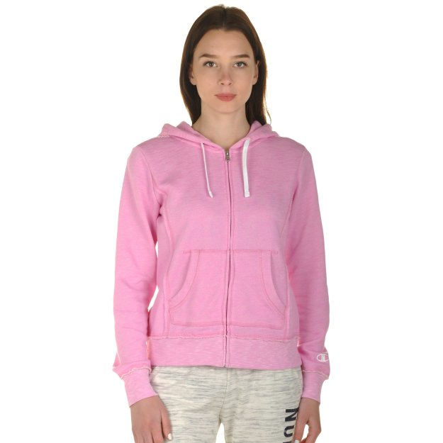 Кофта Champion Hooded Full Zip Sweatshirt - MEGASPORT