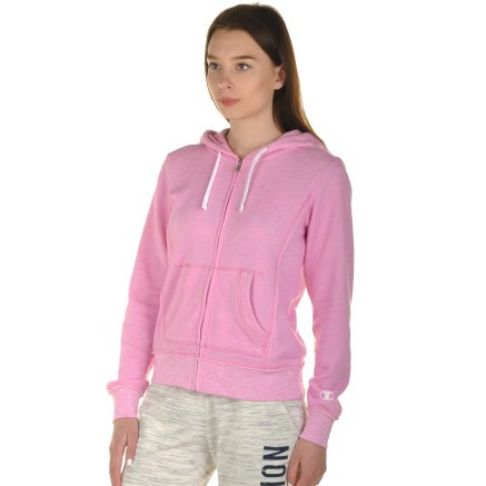 Кофта Champion Hooded Full Zip Sweatshirt - 100988, фото 2 - інтернет-магазин MEGASPORT