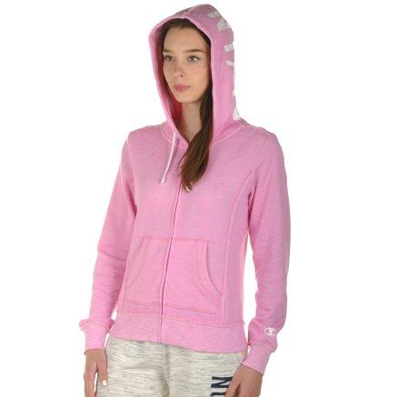Кофта Champion Hooded Full Zip Sweatshirt - 100988, фото 4 - інтернет-магазин MEGASPORT