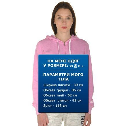 Кофта Champion Hooded Full Zip Sweatshirt - 100988, фото 8 - інтернет-магазин MEGASPORT