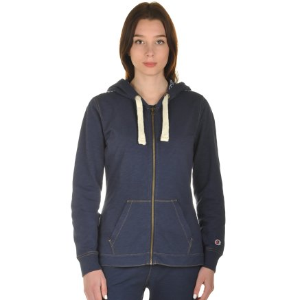 Кофта Champion Hooded Full Zip Sweatshirt - 101001, фото 1 - інтернет-магазин MEGASPORT