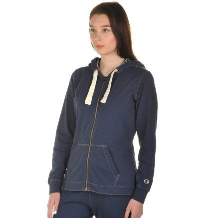 Кофта Champion Hooded Full Zip Sweatshirt - 101001, фото 2 - інтернет-магазин MEGASPORT