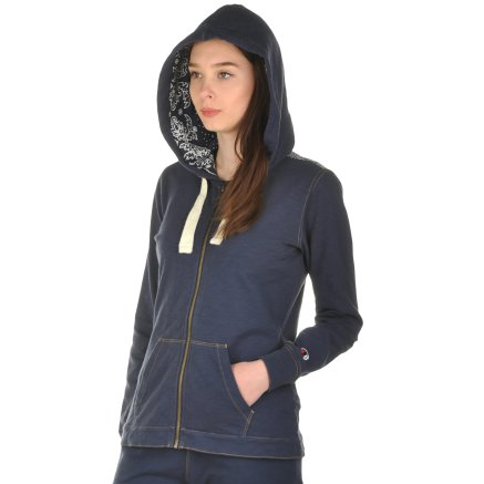 Кофта Champion Hooded Full Zip Sweatshirt - 101001, фото 4 - інтернет-магазин MEGASPORT