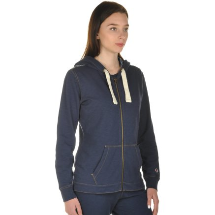 Кофта Champion Hooded Full Zip Sweatshirt - 101001, фото 5 - інтернет-магазин MEGASPORT