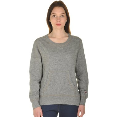 Кофты champion Crewneck Sweatshirt - 101002, фото 1 - интернет-магазин MEGASPORT