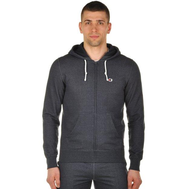Кофта Champion Hooded Full Zip Sweatshirt - MEGASPORT