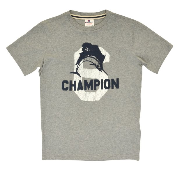 Футболка Champion Crewneck T-Shirt - 101083, фото 1 - интернет-магазин MEGASPORT