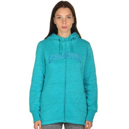 Кофта Champion Maxi Hooded Full Zip Sweatshirt - 106748, фото 1 - інтернет-магазин MEGASPORT