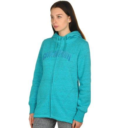 Кофта Champion Maxi Hooded Full Zip Sweatshirt - 106748, фото 2 - інтернет-магазин MEGASPORT