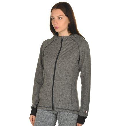 Кофта Champion Hooded Full Zip Sweatshirt - 106765, фото 2 - інтернет-магазин MEGASPORT