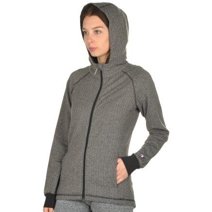 Кофта Champion Hooded Full Zip Sweatshirt - 106765, фото 4 - інтернет-магазин MEGASPORT