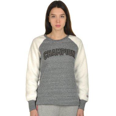 Кофты champion Crewneck Sweatshirt - 106793, фото 1 - интернет-магазин MEGASPORT