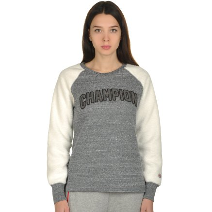 Кофта Champion Crewneck Sweatshirt - 106793, фото 1 - интернет-магазин MEGASPORT
