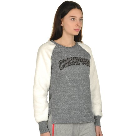 Кофта Champion Crewneck Sweatshirt - 106793, фото 4 - интернет-магазин MEGASPORT