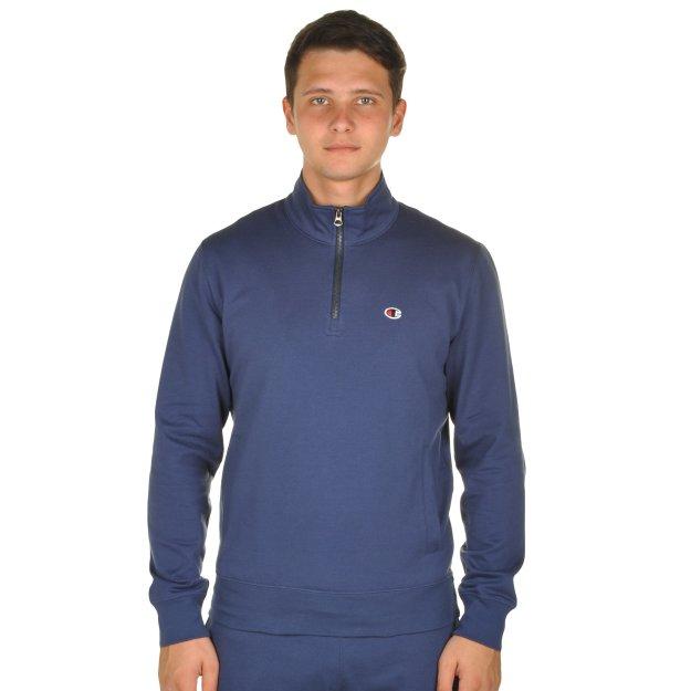 Кофта Champion Half Zip Sweatshirt - MEGASPORT