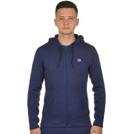 Кофта Champion Hooded Full Zip Sweatshirt - 106820, фото 1 - інтернет-магазин MEGASPORT