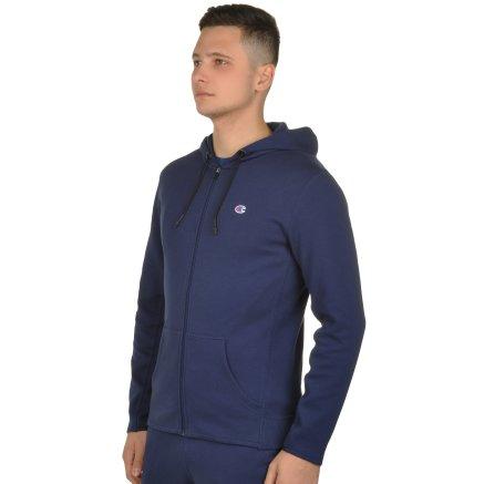 Кофта Champion Hooded Full Zip Sweatshirt - 106820, фото 2 - інтернет-магазин MEGASPORT