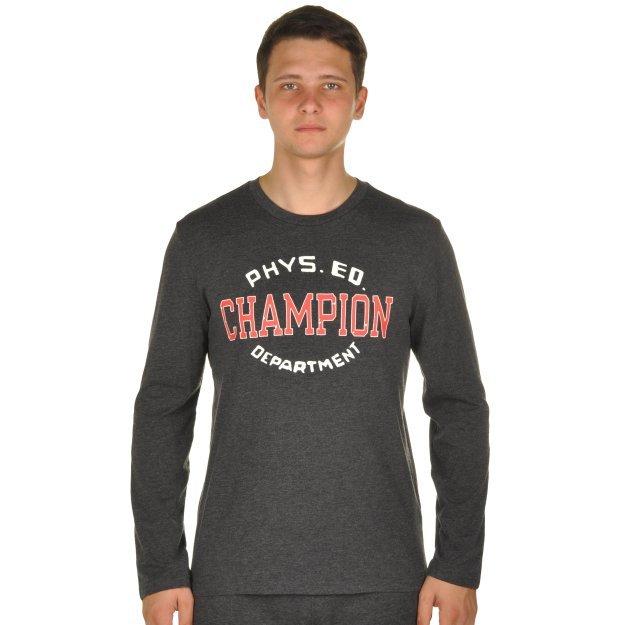 Кофта Champion Long Sleeve T-Shirt - MEGASPORT