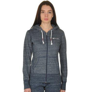 Кофты champion Full Zip Sweatshirt - 109296, фото 1 - интернет-магазин MEGASPORT