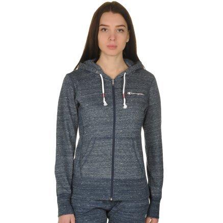 Кофта Champion Full Zip Sweatshirt - 109296, фото 1 - интернет-магазин MEGASPORT