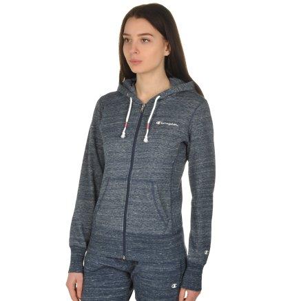 Кофта Champion Full Zip Sweatshirt - 109296, фото 2 - интернет-магазин MEGASPORT