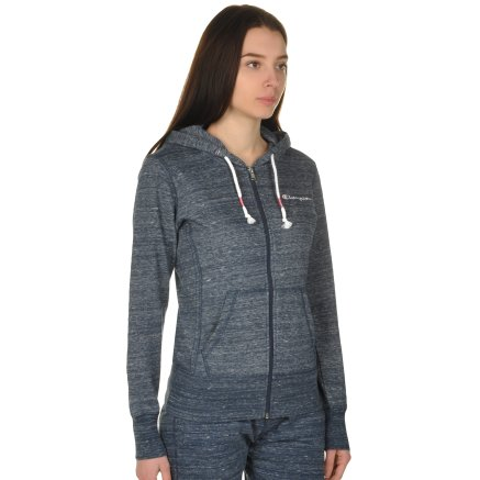 Кофта Champion Full Zip Sweatshirt - 109296, фото 4 - интернет-магазин MEGASPORT