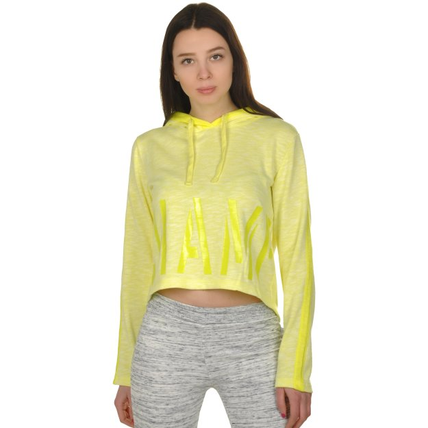 Кофта Champion Hooded Full Zip Crop Top - MEGASPORT