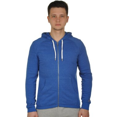 Кофты champion Hooded Full Zip Sweatshirt - 109374, фото 1 - интернет-магазин MEGASPORT