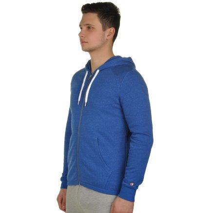 Кофта Champion Hooded Full Zip Sweatshirt - 109374, фото 2 - інтернет-магазин MEGASPORT