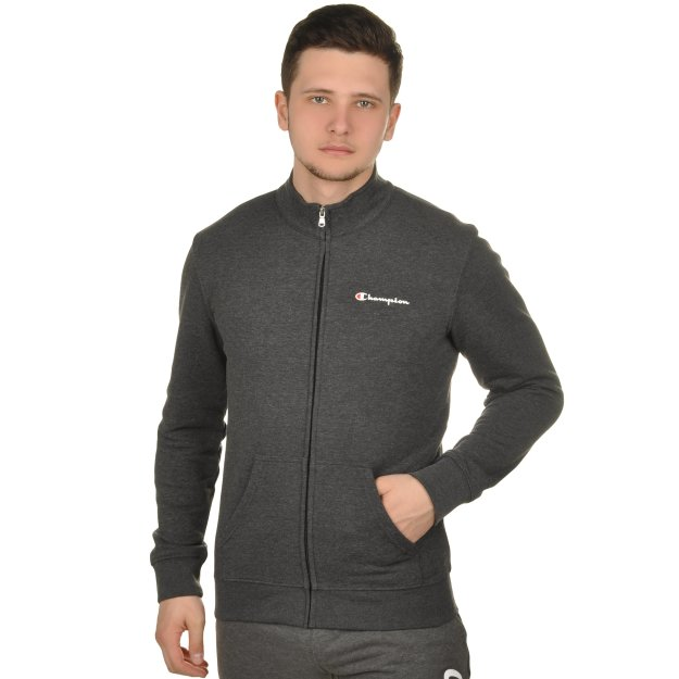 Кофта Champion Full Zip Sweatshirt - MEGASPORT