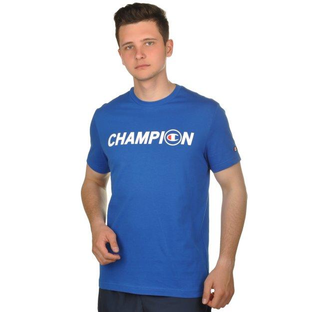 Футболка Champion CrewneckT-Shirt - 109404, фото 1 - інтернет-магазин MEGASPORT