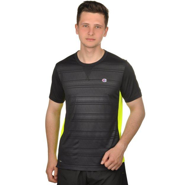Футболка Champion CrewneckT-Shirt - 109425, фото 1 - интернет-магазин MEGASPORT
