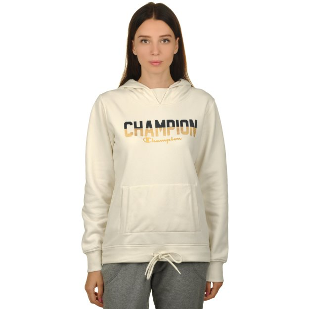Кофта Champion Hooded Sweatshirt - 112231, фото 1 - интернет-магазин MEGASPORT