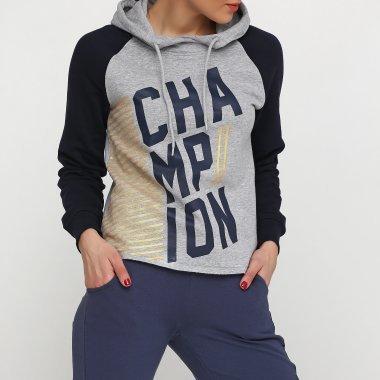 Кофты champion Hooded Sweatshirt - 112333, фото 1 - интернет-магазин MEGASPORT
