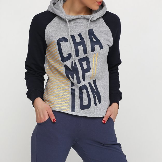Кофти Champion Hooded Sweatshirt - MEGASPORT