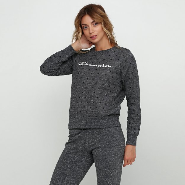 Кофта Champion Crewneck Sweatshirt - 112340, фото 1 - интернет-магазин MEGASPORT