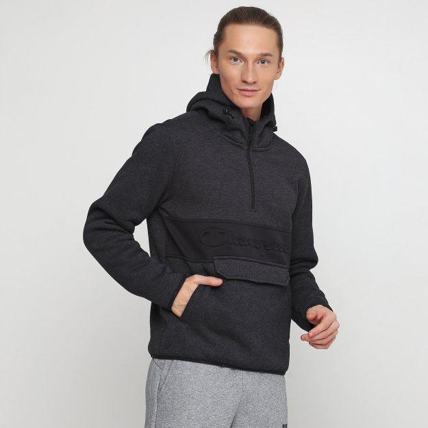 Кофта Champion Hooded Half Zip Sweatshirt - MEGASPORT