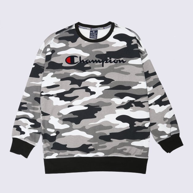 Кофта Champion Crewneck Sweatshirt - 113668, фото 1 - интернет-магазин MEGASPORT