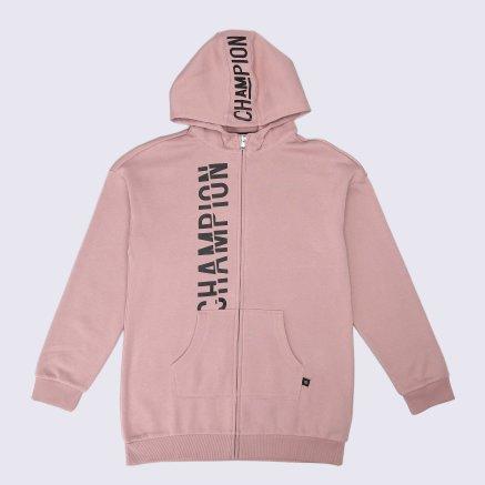 Кофта Champion Hooded Full Zip Sweatshirt - 112430, фото 1 - интернет-магазин MEGASPORT