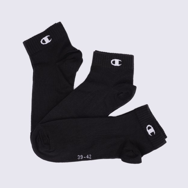 Шкарпетки Champion Champion 3pk Quarter Socks - MEGASPORT