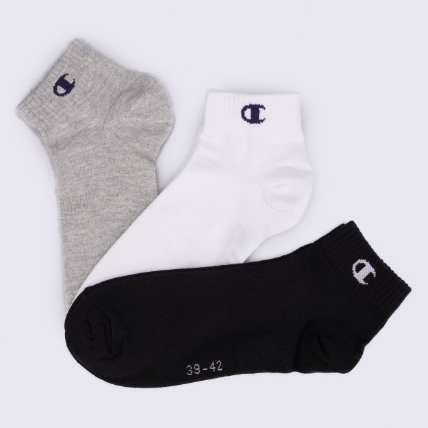 Носки Champion Champion 3pk Short Socks - MEGASPORT
