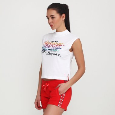 Майки champion Crewneck Sleeveless T-Shirt - 115833, фото 1 - інтернет-магазин MEGASPORT